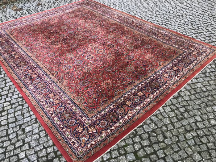 XXL INDO-SARUGH MAHAL Rug Hand knotted 335x250cm