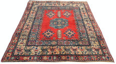 20th Century Turkish Milas  Hand Knotted Area Carpet Rug 212 cm x 167 cm