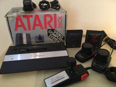 Atari 2600 Junior boxed including 2 Games , Atari Pro Line Joystick , 2 Atari Paddles and All Leads & Cables