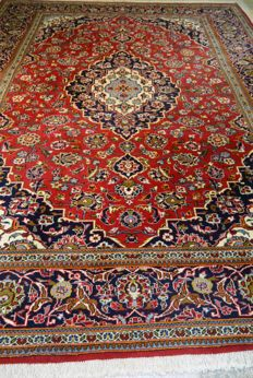 High-quality palace carpet/luxurious Persian carpet Kashan 347 x 252 cm End of the 20th century