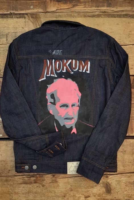 Amsterdenim Denim vs Art jacket #3 - Martijn Krabman- Freddy