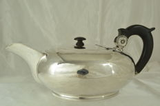 Sterling silver teapot, France, early 19th century
