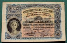 Switzerland - 100 francs 1920 - Pick 6d
