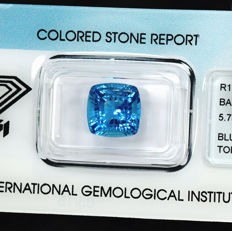 Swiss Blue Topaz – 5.73 ct