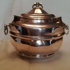 Silver tea Caddy - Joseph Rodgers & Sons - Sheffield - 1898-99