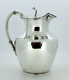 Antique Silver Plate Wine Jug, Circa.1920