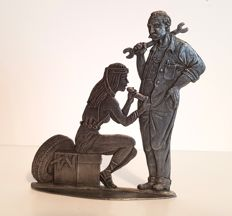 Tin figure; Blow job - 2nd half of the 20th century