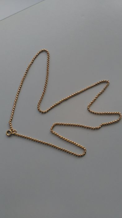 Vintage 19,2k gold chain, with 19,57 grams of weight and 71 cm in lenght