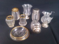 Lot of Frisian wire glass - 8 items