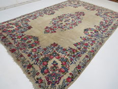 Beautiful Persian carpet, vintage Kerman/Iran, cm 320 x 220, vintage around 1970