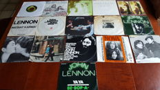 "John Lennon - Lot of 16 x 7"" Singles"