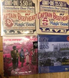 Four albums of Captain Beefheart || Deluxe editions || Heavyweight vinyl