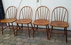 Akerblom attributed, vintage chairs, 2nd half 20th century