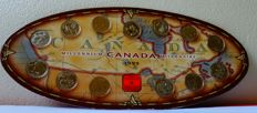 Canada - 25 Cents 1999 'Millennium Edition' (13 pieces) in set - nickel