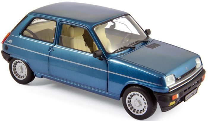 Norev - Scale 1/18 - Renault 5 Alpine Turbo 1968 - Metallic blue