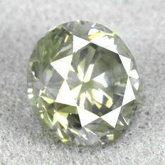 Diamond - 1.33 ct, Si1 – Natural Fancy Greyish Yellow