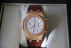 Audemars Piguet - Royal Oak Chronograph - 26022OR00-D088CR.01 - Masculin - 2008