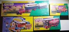 Corgi - scale 1/43-1/50 - lot of 4 Corgi Circus Trucks, Limited Edition