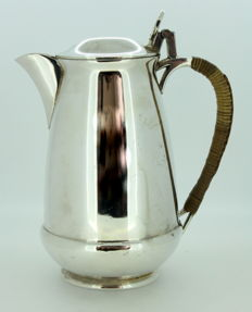 Antique Victorian Silver Plate Tea Pot, William Hutton & Sons, Circa.1890