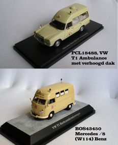 Premium ClassiXXs - Scale 1/43 - VW T1 and Bos Models Mercedes-Benz Ambulance