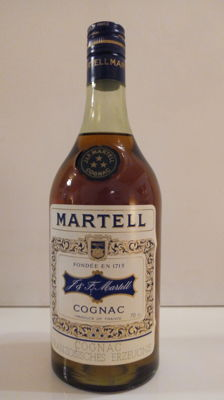 Martell Three Star Cognac - 1970s (70cl, 40%)