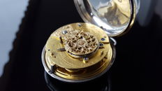 C. Haines, Swindon (London) verge fusee pocket watch