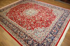 Highly valuable CHINA ISFAHAN carpet very fine freshly cleaned approx.: 316x248