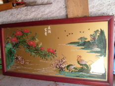 Asian painting - China - second half of the 20th century (182 cm)