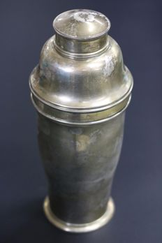 Silver cocktail shaker, Spain, 20th century