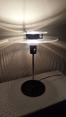 Unkown designer - Vintage Ufo Lamp With Beautiful Glow