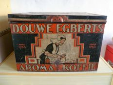 Douwe Egberts - shop tin - 19th century