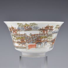 A porcelain Guangxu brand and period bowl - China