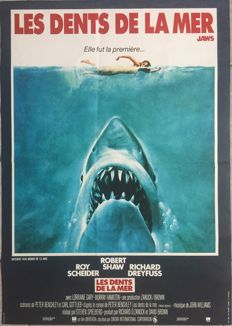 Anonymous - Les Dents de la mer / Jaws (Steven Spielberg) - 1979