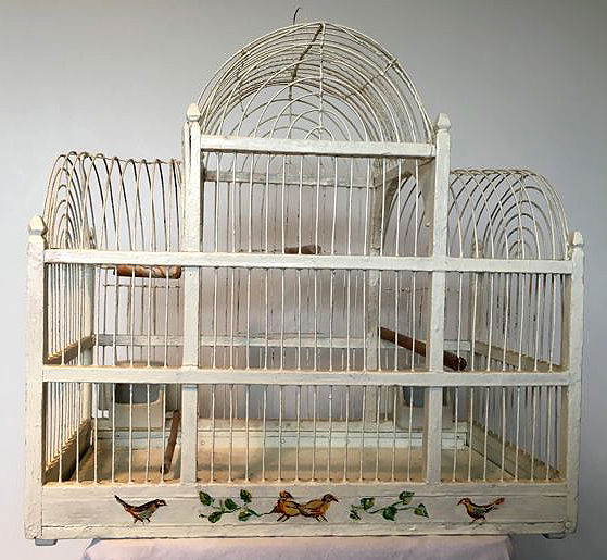 Large bird cage, the Netherlands, second half 20th century