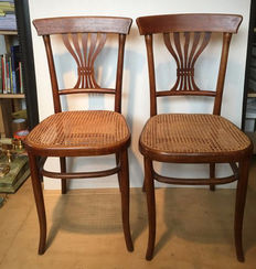 Two frail chairs, first half 20th century