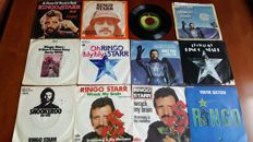 "Ringo Starr - Lot of 12 x 7"" Singles"
