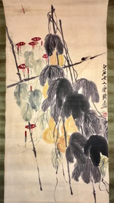Watercolour and ink painting - China - Late 20th century