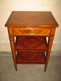 Rosewood coffee table - France - ca. 1900