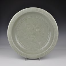 A Celadon Glazed Dish From The Ming Dynasty - China - 16th century