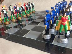 Super Heroes 3D Chess game