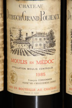 1985 Chateau Dutruch Grand Poujeaux - 6 Bottles