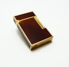 S.T. Dupont Paris - Lighter in Chinese lacquer and gold plating, line 2