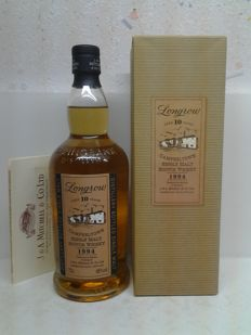 "Sprinbank "" Longrow "" Campbeltown Single Malt 1994 - 10 years old."