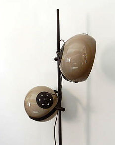 Dijkstra Lampen - Floor lamp and Wall light 1960s