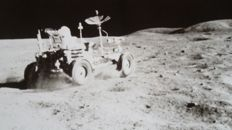 Touring on the moon (Apollo-16)