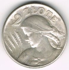 Poland - 2 Zloty 1925 - silver