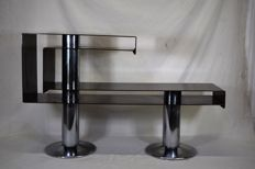 Designer Unknown - Metal Side Table