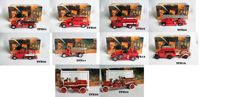 Matchbox - Scale 1/43 - Lot with 10 models: 10 x Fire Truck Collection