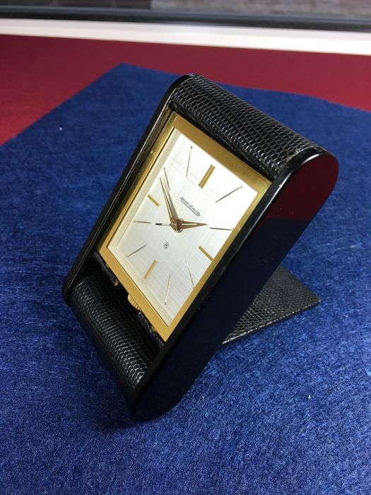 Jaeger-leCoultre 8 days travel alarm clock - from the 1950's