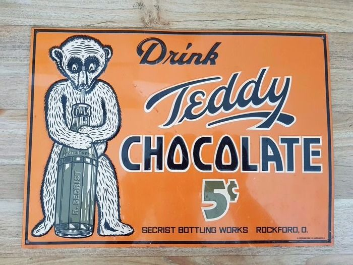 Teddy chocolate